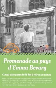 """Circuit-découverte """"Promenade au Pays d'Emma Bovary"""" 66km"""