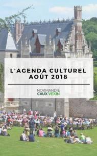 L'Agenda culturel - Août 2018
