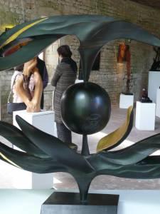 Exposition de sculptures